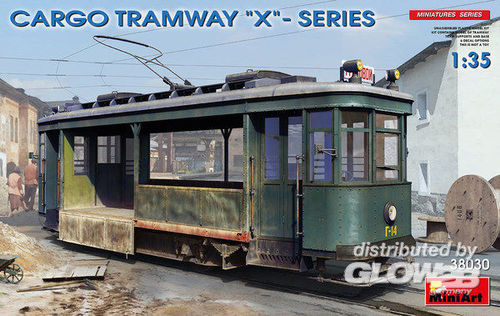 "MiniArt: Cargo Tramway ""X""-Series in 1:35"